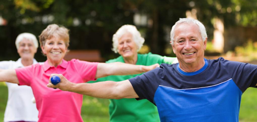 séance de sport pour senior