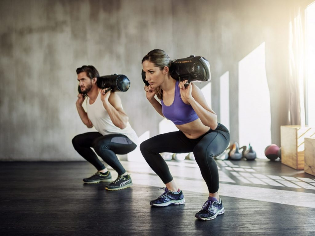 Séance de renforcement musculaire