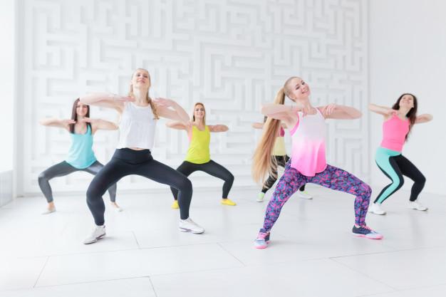 Séance de danse fitness pour travailler son endurance