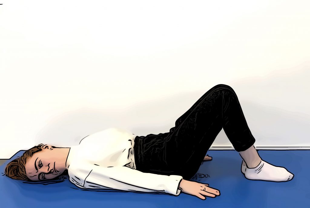 Exercices stretching dos