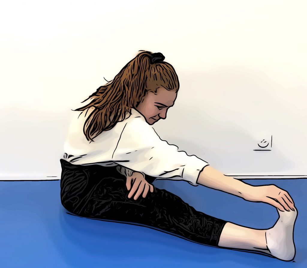 Exercices stretching jambes 2