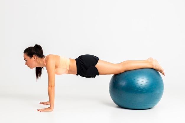 ballon gym pompe
