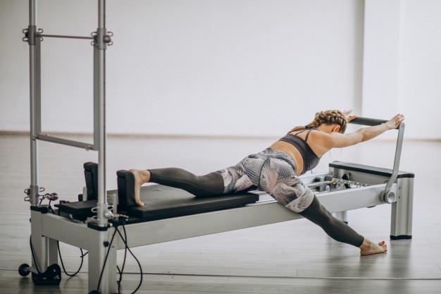 machines de Pilates en studio