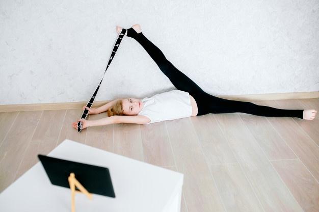 Elastiband pour Pilates mat