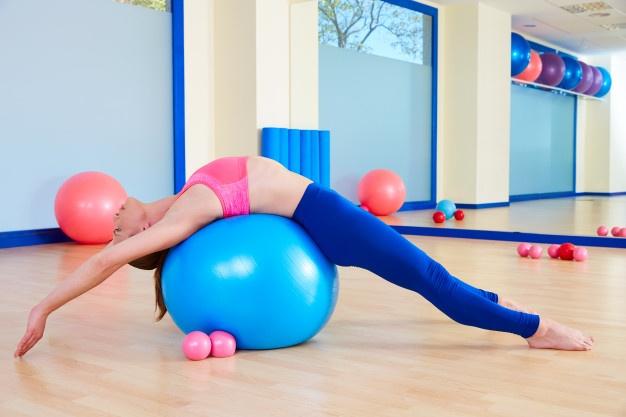 Swiss Ball matériel de Pilates mat