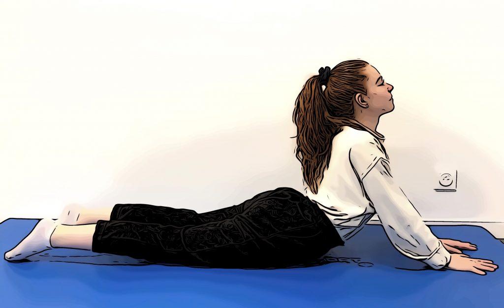 Exercices de stretching : pectoraux