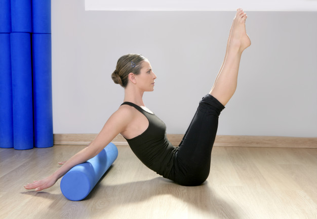 foam roller hollow hold