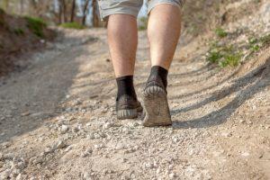 Running sur terrain difficile