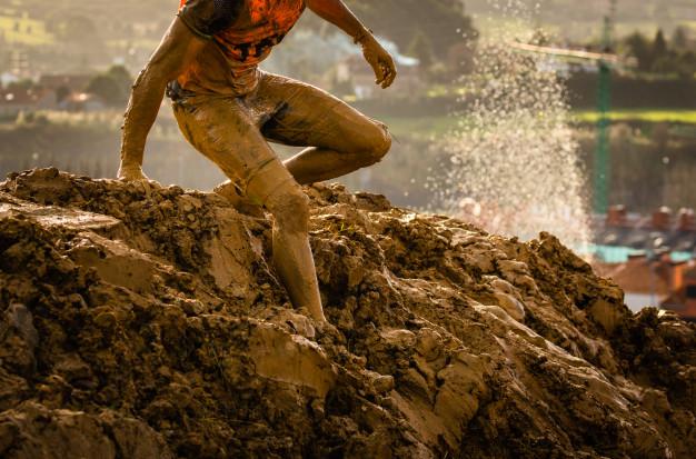 Préparation Spartan Race dans la boue