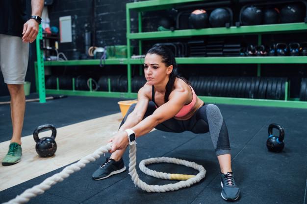 cross training : utiliser une battle rope, ou corde ondulatoire