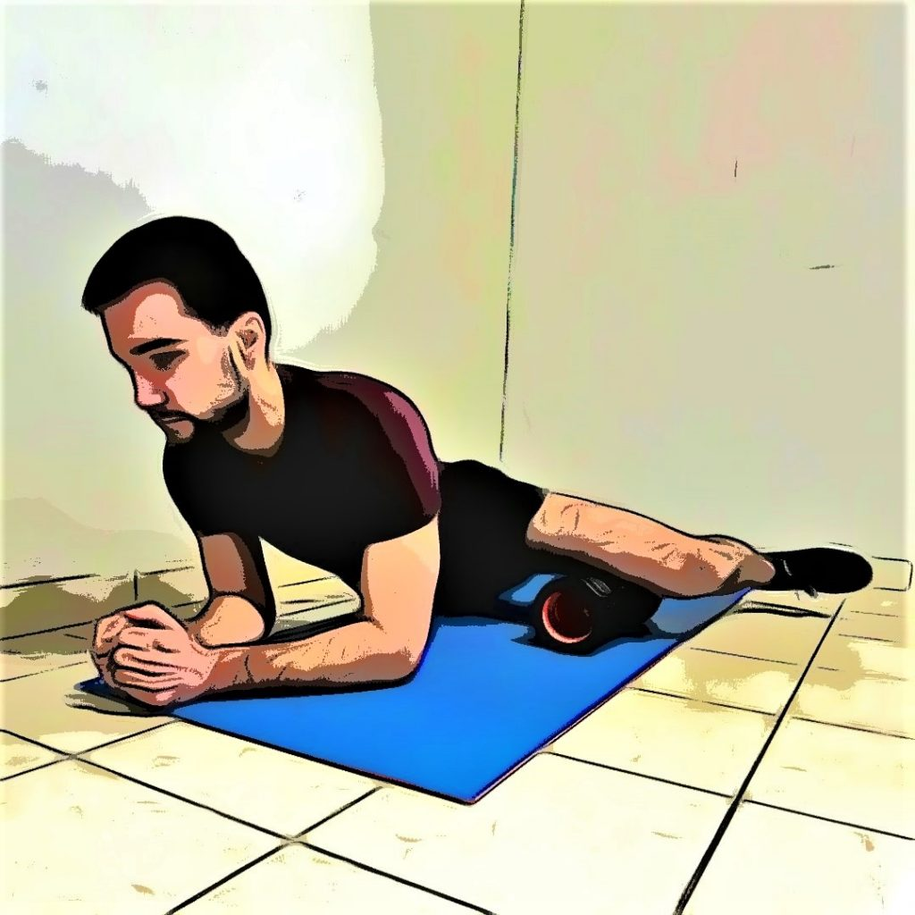 Massage running : adducteurs