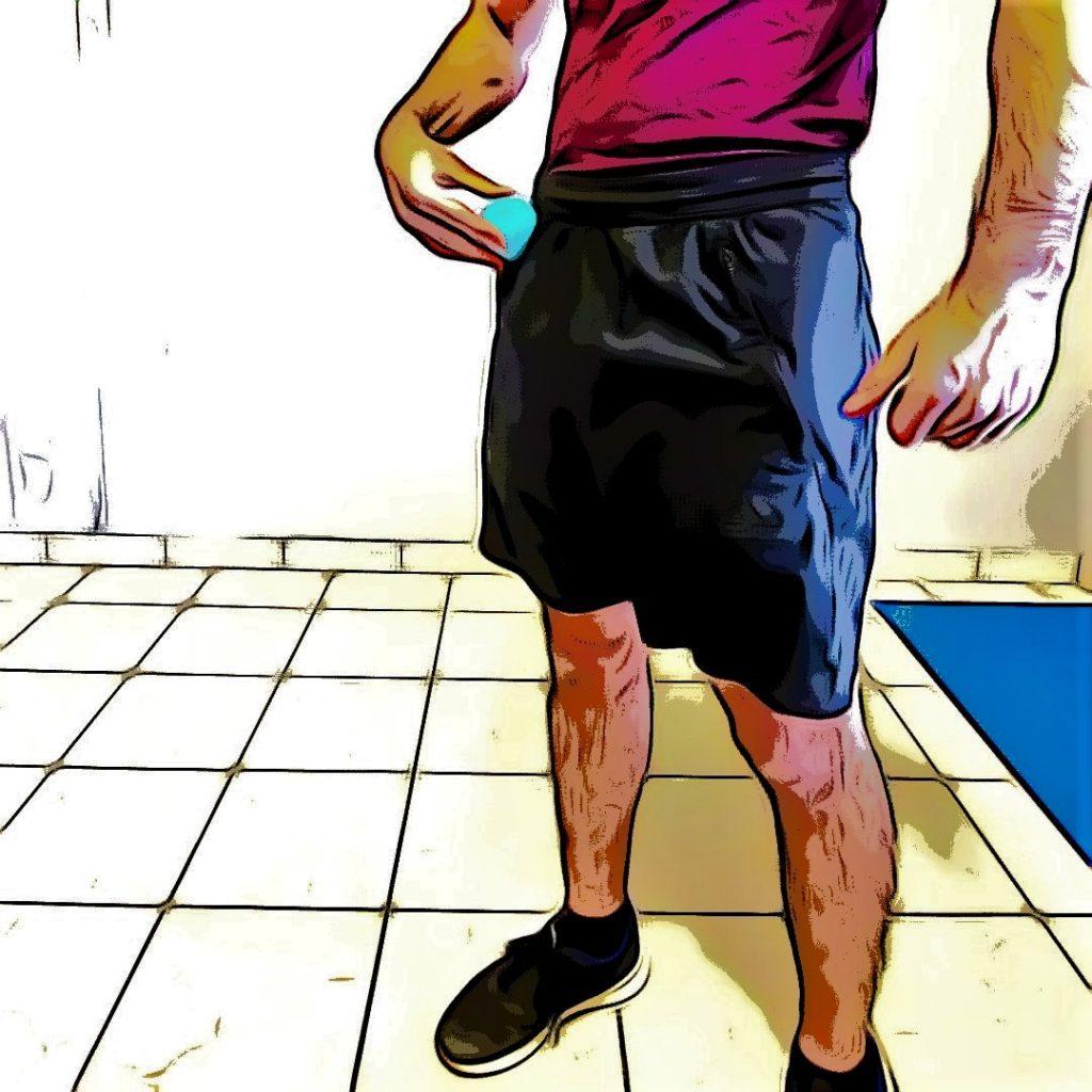 Course à pied : ilio psoas