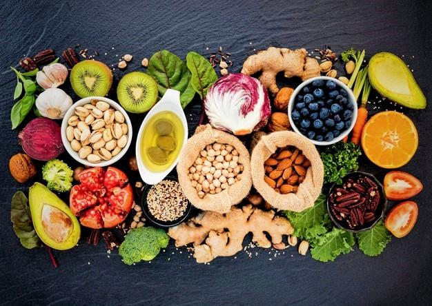 les aliments que l'on retrouve dans la nutrition cross training