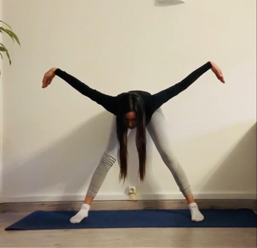 posture de la mouette : étape 2