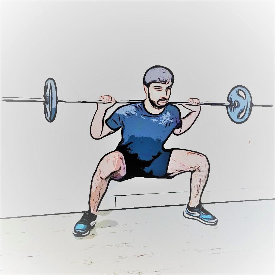 exercice du squat sumo