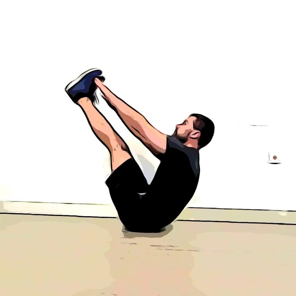 le v up : un exercice de renforcement musculaire pour les abdominaux