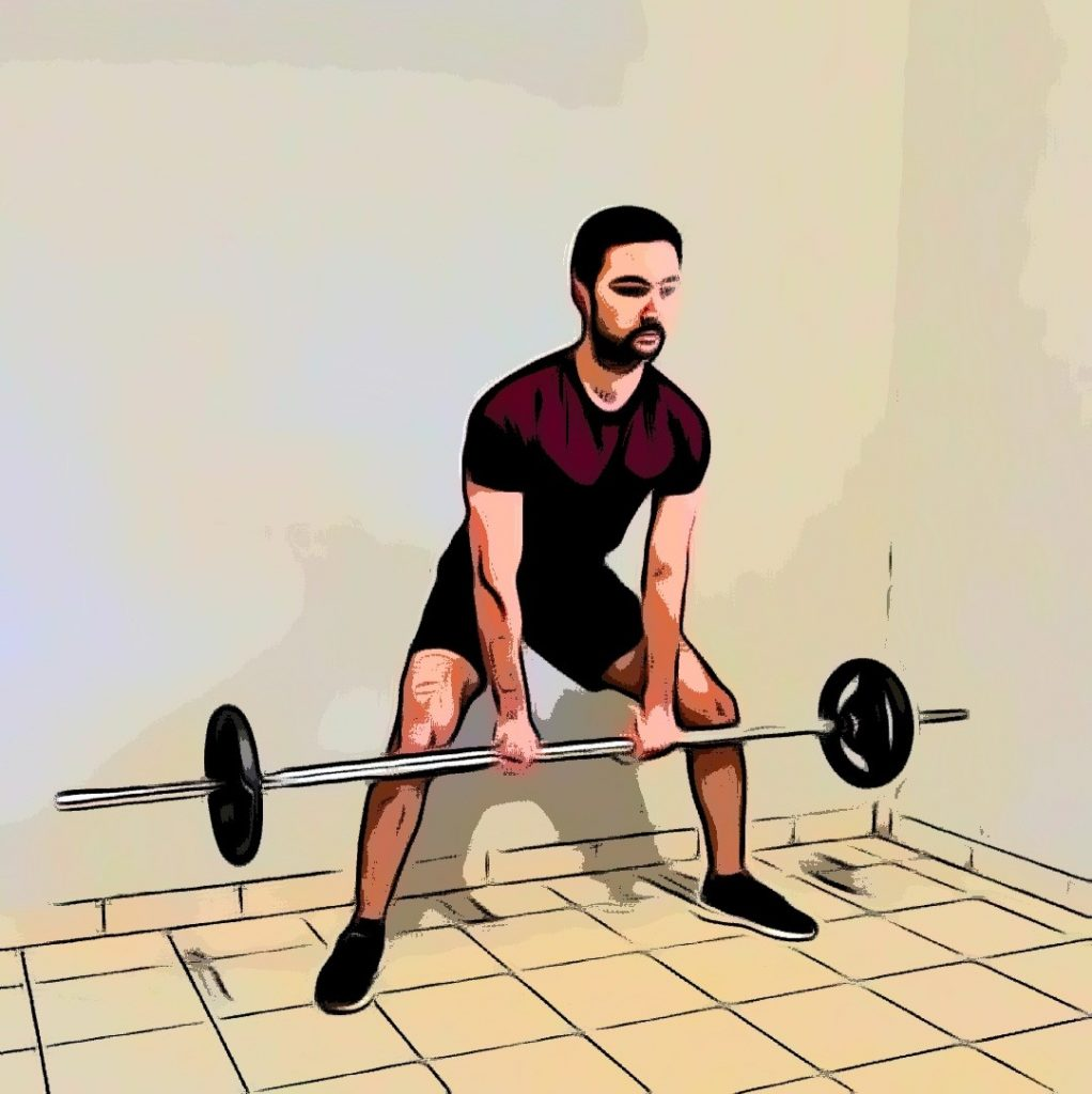 sumo deadlift high pull : un exercice plyarticulaire pour un wod jambes dos