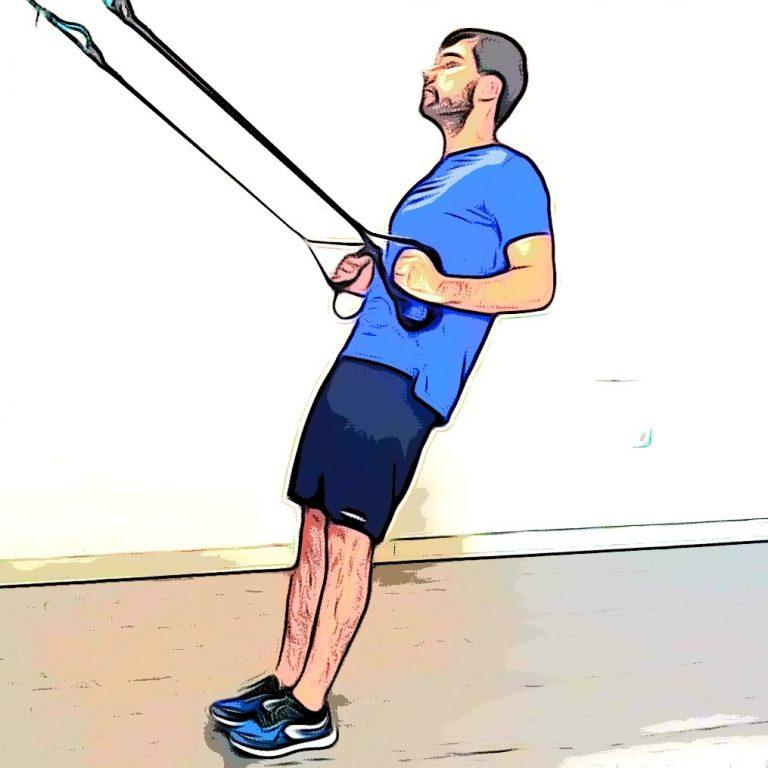 TRX tirage : un exercice TRX haut du corps, et plus spécifiquement pour le dos