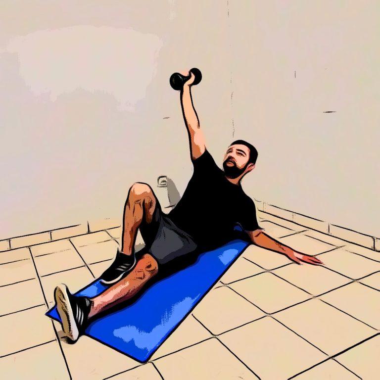 turkish get up : une séance pour le renforcement du dos