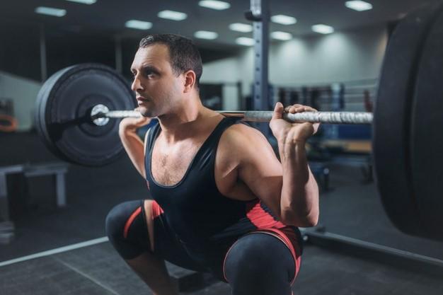 faire du squat très lourd pour appliquer le processus de potentiation