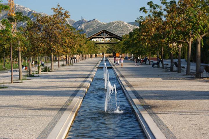 sport à Marseille au Parc du 26e centenaire