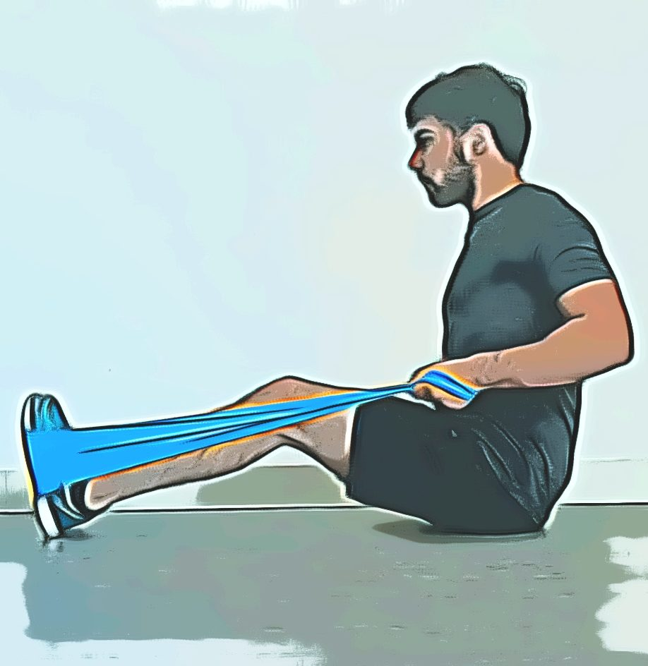 Tirage horizontal : amener les coudes vers l'arrière